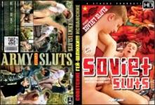 Советские Гей-Шлюхи + Испанские Военные Гей-Шлюхи / Soviet Sluts + Spanish Army Sluts (Гей видео)